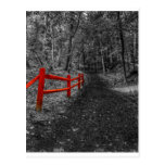 Red Fence Postcards