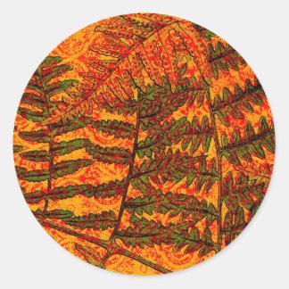 Red Fern sticker
