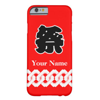 Red Festival Happi Coat Barely There iPhone 6 Case