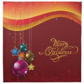 Red festive Cloth Napkin