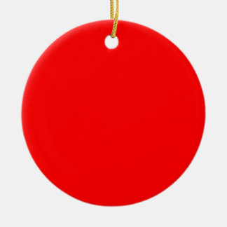 Red FF0000 Ornament