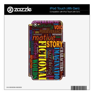 Red Fiction Writer's iPod Touch Skin