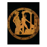 Red-figure cup depicting Athena, Theseus Post Cards