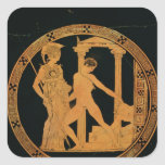Red-figure cup depicting Athena, Theseus Stickers