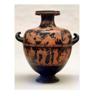 Red-figure hydria by the Medias Painter, Postcard