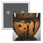 Red-figure krater button