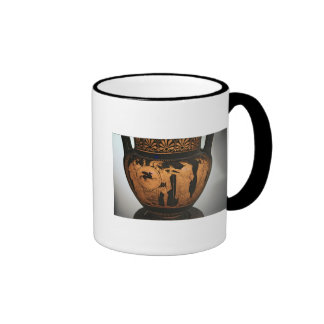 Red-figure krater ringer coffee mug
