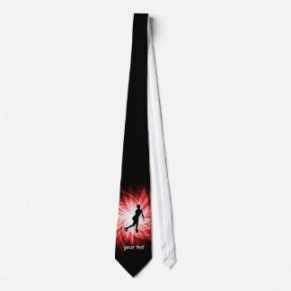 Red Figure Skating Neck Tie