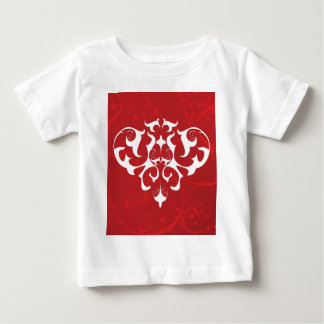 Red Filigree T Shirts