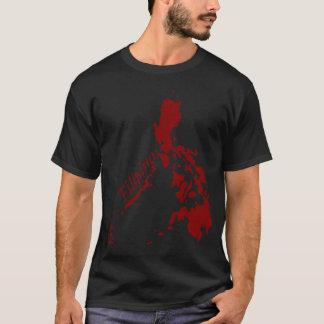 Red Filipino Philippine Islands T-Shirt