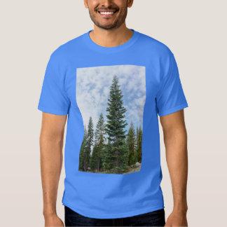 Red Fir Trees on Mt Shasta Men's T-shirt