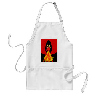 Red Fire Breathing Dragon Adult Apron