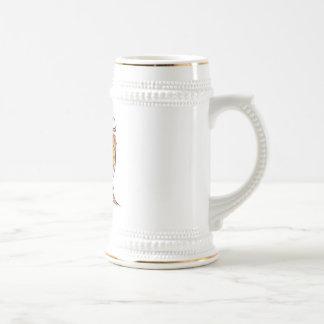 red fire-breathing dragon coffee mug