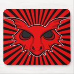 Red Fire Breathing Dragon Mousepad