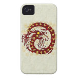 Red Fire Dragon iPhone 4 Cover