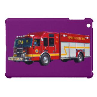 Red Fire Engine Fire-Fighter Truck Device Case iPad Mini Case