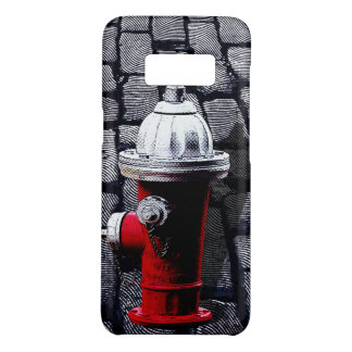 Red Fire Hydrant Illustration New York Phone Case