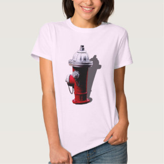Red Fire Hydrant New York T-shirt