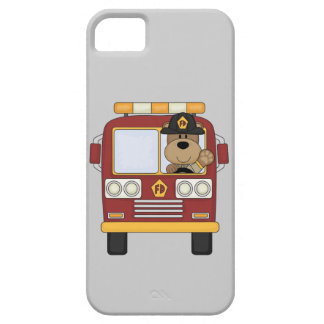 Red Fire Truck Bear iPhone SE/5/5s Case
