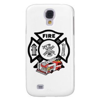 Red Fire Truck Galaxy S4 Cases