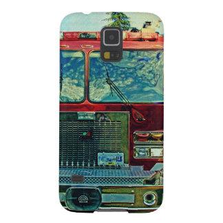 Red Fire Truck Fireman's Art Gift Galaxy S5 Cases