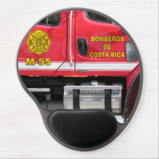 Red Fire Truck mouse pad Gel Mouse Pad