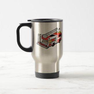 Red Fire Truck mug