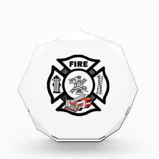 Red Fire Truck Rescue Award