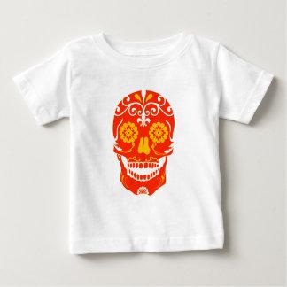 RED FIRED SKULL BABY T-Shirt