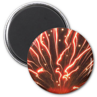 Red Firework Magnet