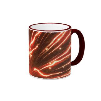 Red Firework Mug