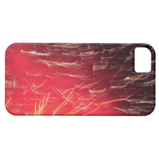 Red fireworks iPhone 5 case