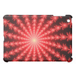 Red Fireworks - fractal design iPad Mini Covers