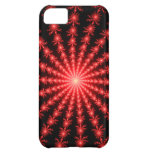 Red Fireworks - fractal design iPhone 5C Covers