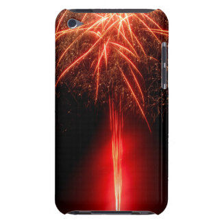 Red Fireworks iPod Case-Mate Case