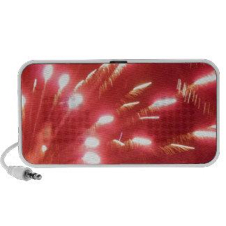 Red Fireworks Speaker