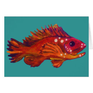 Red Fish Card
