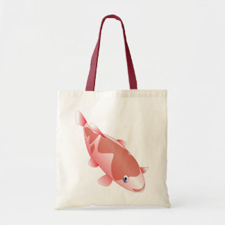 Red fish for fish lovers tote bag