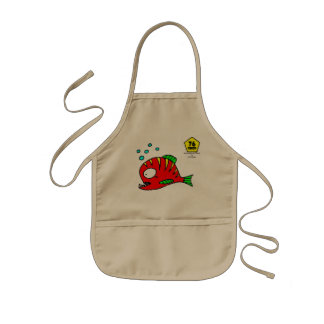 Red Fish Kids' Apron