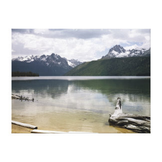 Red Fish Lake Gallery Wrap Canvas