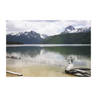 Red Fish Lake Canvas Prints