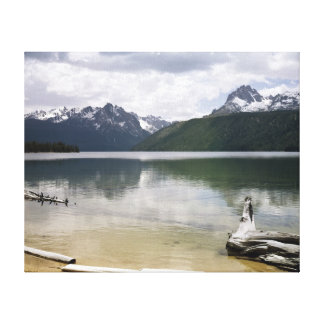 Red Fish Lake Gallery Wrapped Canvas
