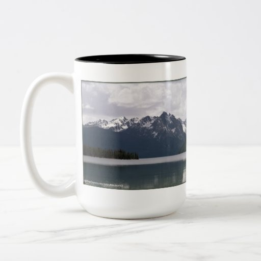 Red Fish Lake Idaho Coffee Mugs