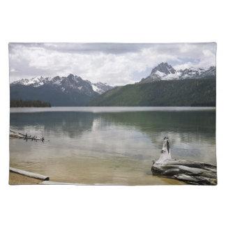 Red Fish Lake Idaho Placemat