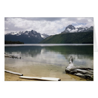 Red Fish Lake Stationery Note Card