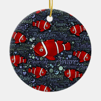 Red Fish ornament