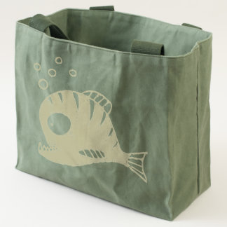 Red Fish Tote