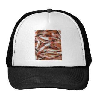 Red Fish with Yellow Eyes Trucker Hat
