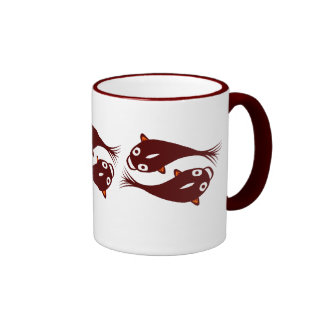 Red Fishes Mugs