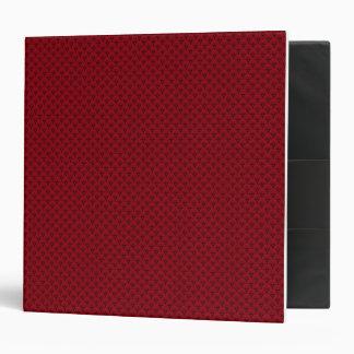 Red Fishscales Vinyl Binders